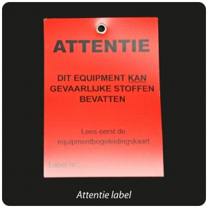 label-attentie-rood