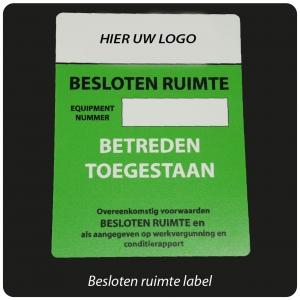 label-besloten-ruimte