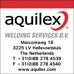 Aquilex welding services bv sticker 400 x 400mm