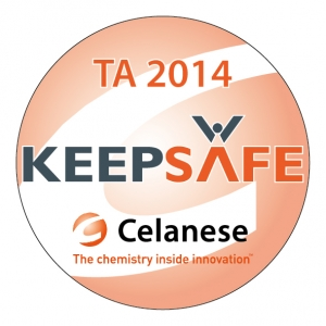 Celanese Helm sticker TA 2014-01