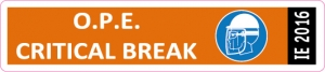 ExxonMobil Bt IE 2016 OPE sticker
